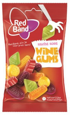 RED BAND 100g winegum mix