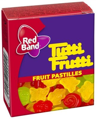 RED BAND FRUIT 15g želé cukríky