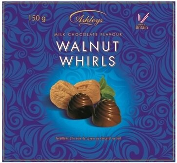 ASHLEYS WALNUT WHIRLS 150g dezert