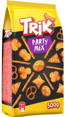 TRIK PARTY MIX 500g  slané krekry