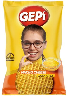 GEPI WAFER CHIPS 65g syrové