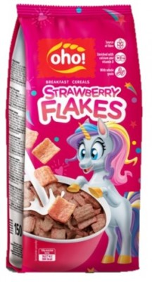 STRAWBERRY FLAKES 150g raňajkové cereálie(exp.12/06/21)