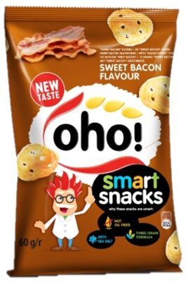 SMART SNACK 60g slaninové