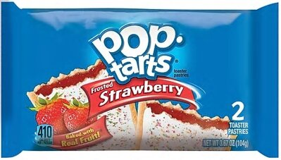 POP TARTS FROSTED STRAWBERRY 96g cereália/koláčik/tyčinka