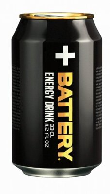 BATTERY ENERGY DRINK 330ml originál