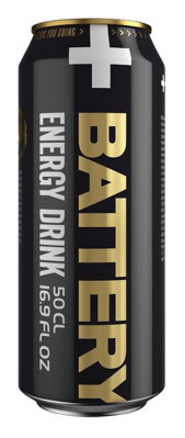 BATTERY ENERGY DRINK 500ml original
