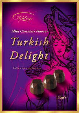 WALKERS TURKISH DELIGHT 120g karamelový dezert
