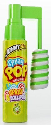 JOHNY BEE SPRAY POP 25g lízatko+spray