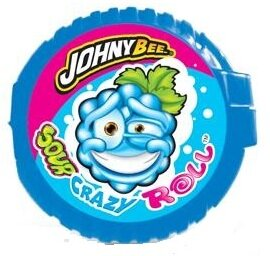 JOHNY BEE CRAZY ROLL SOUR 18g kyslá metrová žuvačka