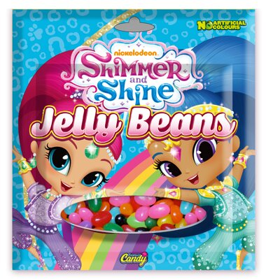 SHIMMER and SHINE JELLY BEANS 60g cukríky