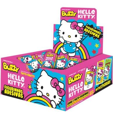 HELLO KITTY RED 400g ovocné žuvačky (cena za display/100ks)