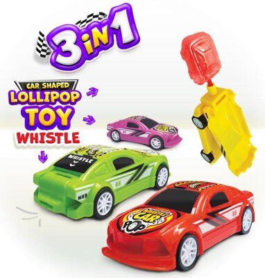JOHNY BEE CAR WHISTLE 10g lízanka s hračkou