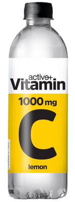 ACTIVE VITAMIN C  500ml sýtený nápoj