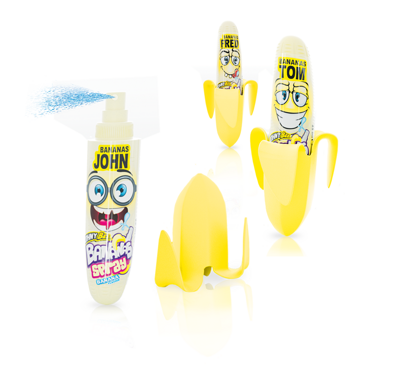 JOHNY BEE BANANA SPRAY 25ml ovocný spray
