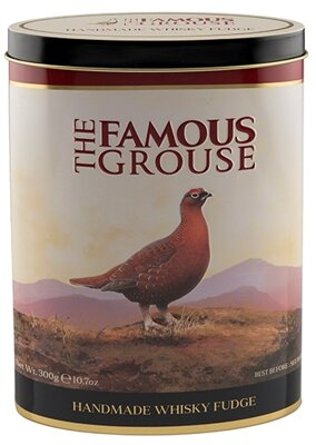 THE FAMOUS GROUSE 300g fudge bonbóny (plech)