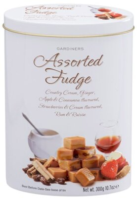 GARDINERS FUDGE 300g mix (plech)